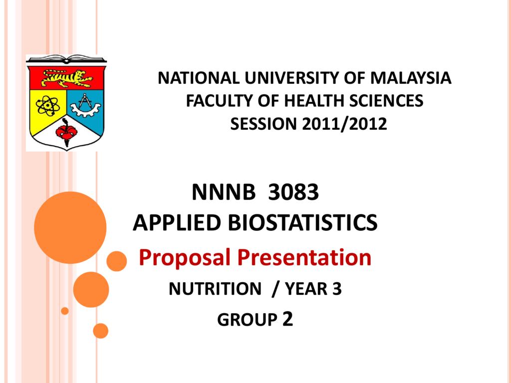 biostat proposal powerpoint-EDITED 4 APRIL 2012