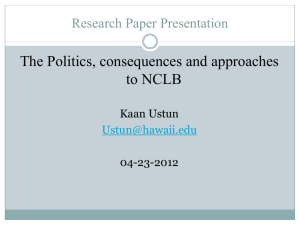 SLS 380: Research Paper Presentation