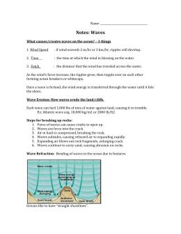 Oceanography Study Guide Essay Sample