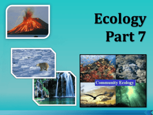 Ecology 2015-2016 - Part 7 - Pollution Student Notes