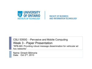Dinesh Bilimoria: ppt - UOIT.CA: Faculty Web Server