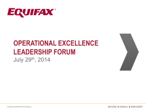 Operational Excellence Leadership Forum - On-The