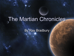 The Martian Chronicles ppt