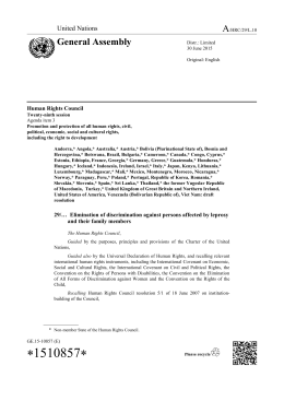 A/HRC/29/L.10 - Office of the High Commissioner on Human Rights