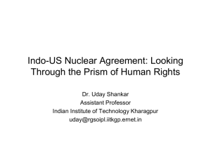 International policies and treaties on nuclear