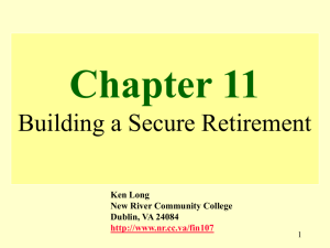Chapter 11 - New River Community College