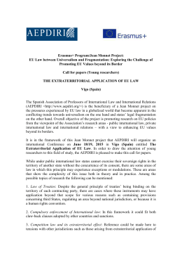 Call for Papers - European Law Blog