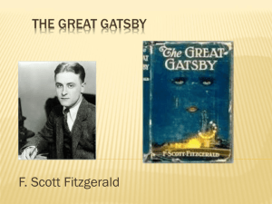 The Great Gatsby Intro - Hinsdale South High School