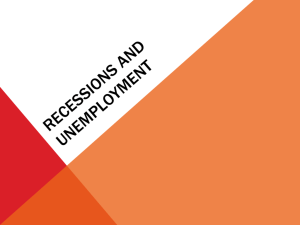 Recessions and Unemployment PowerPoint