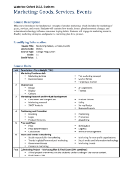 course outline 2015 Version march 2015 esr epidemiological skills development programme module 21 outbreak investigation and control course course outline christine roseveare.