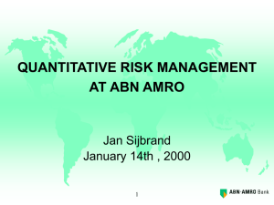 Enterprise Wide Risk management