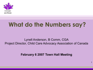 town_hall_Feb_07_Rmd.. - Coalition of Child Care Advocates of BC