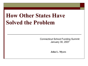 How Other States Have Solved the Problem