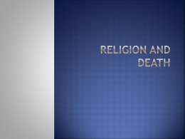 Religion and Death