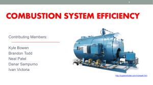 18: Combustion System Efficiency