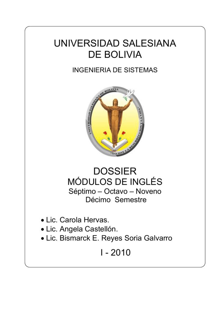 M ó Dul O Ii Universidad Salesiana De Bolivia