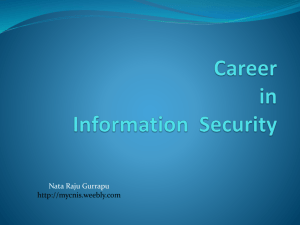 File - Computer Networks & Information Security