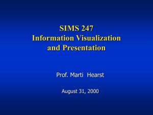 SIMS 247 - Courses