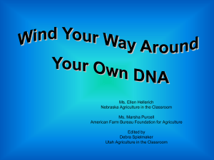 dna - Agriculture in the Classroom