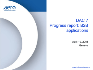 Dac 7, Development presentation