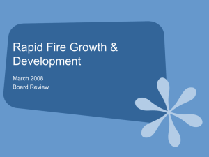Rapid Fire Growth & Development