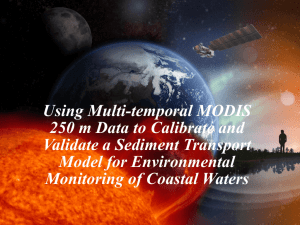 Using Multi-Temporal MODIS 250 m Data to Calibrate and Validate
