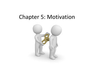 Chapter 5: Motivation - My book Kathrine kirkeby thomsen