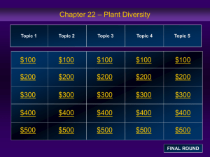 Bio C22 Jeopardy Review B