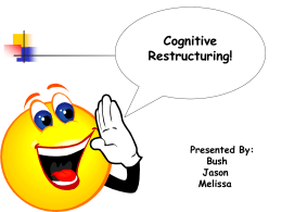 WS06 Cognitive Restructuring