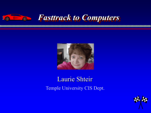Fasttrack to Computers