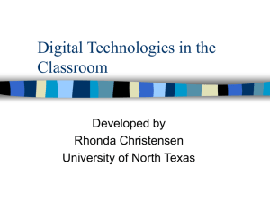 ppt - Courseweb - University of North Texas