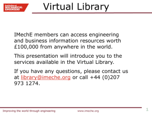 IMechE Virtual Library - EPS Personal home pages