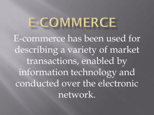 E-Commerce chapter 1