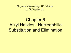 Alkyl Halides