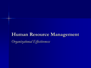 Chapter 3: Human Resource Planning, Recruitment, and Selection