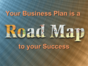 Business Plan Guidellines