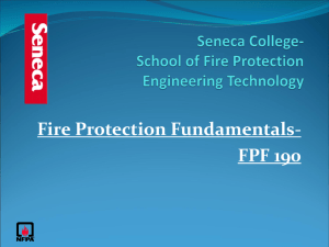 Fire Protection Fundamentals