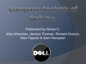 Company Analysis of Dell Inc