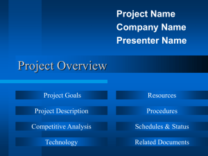 Project Overview (Online).
