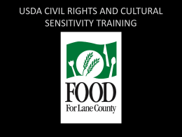 Cultural Sensitivity and Civil Rights Training PowerPoint