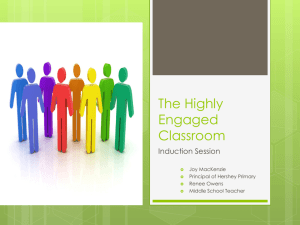 The Highly Engaged Classroom - Will2Will