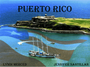 Both spanish and English are the official languages of Puerto Rico