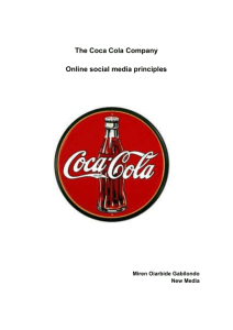 The Coca Cola Company 4