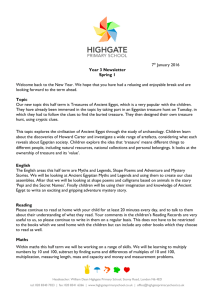 Xxxth Month 2013 - Highgate Primary School