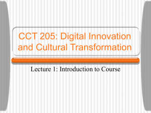 lecture1 - cct205w07