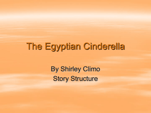 The Egyptian Cinderella Day 1 - Geary County Schools USD 475