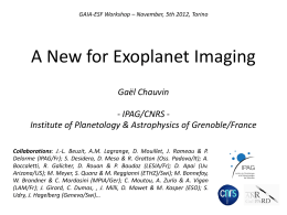 A New Era for Exoplanet Imaging