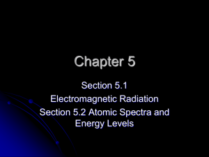 Ch5Sec1And2ElectroSpectrum