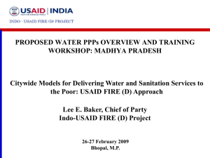 indo-usaid fire (d) - Directorate of Institutional Finance