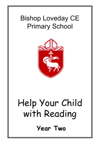 Helping your child to read Year 2